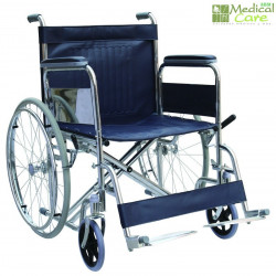 Silla de ruedas de asiento ancho MARCA ABM MEDICAL CARE