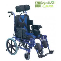 Silla de ruedas para cuadriplegicos MARCA ABM MEDICAL CARE