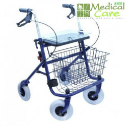 Andador de 4 ruedas MARCA ABM MEDICAL CARE