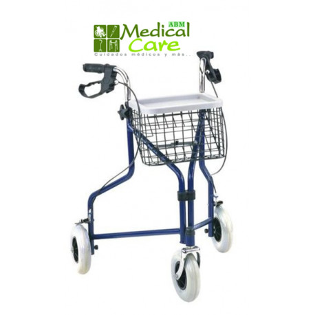 Andador de 3 ruedas MARCA ABM MEDICAL CARE