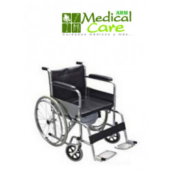 Silla de ruedas con comoda MARCA ABM MEDICAL CARE