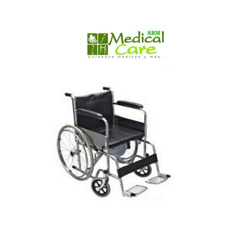 Silla de ruedas con comoda MARCA ABM MEDICAL CARE