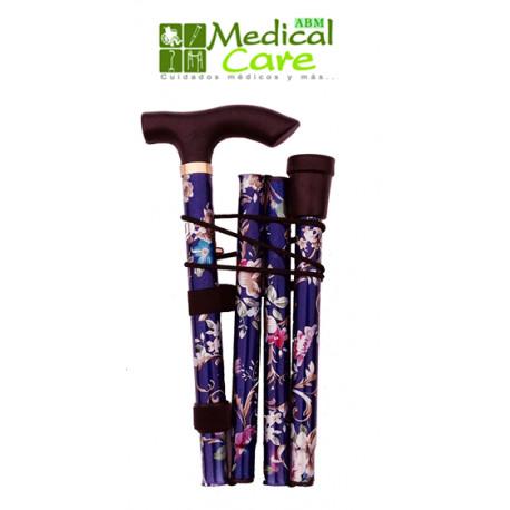 Baston de aluminio MARCA ABM MEDICAL CARE