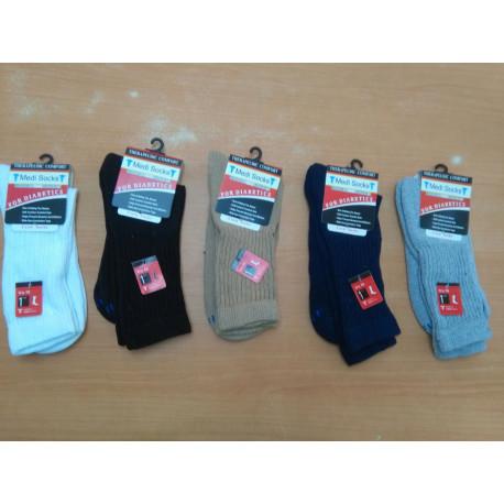 Set de calcetines para pie diabetico MARCA MEDI SHOCKS