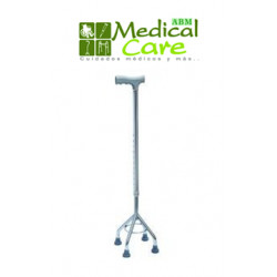 Baston cromado 4 puntos MARCA ABM MEDICAL CARE