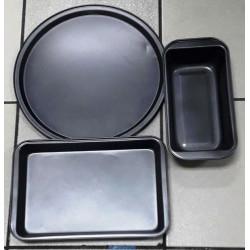 Set de 3 piezas de moldes para hornear MARCA PREMIUM QUALITY
