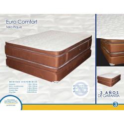 Cama matrimonial euro comfort MARCA FACOMSA