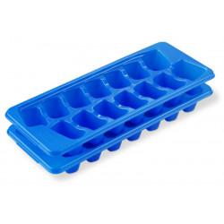 Set  de 2 bandejas plasticas para hielo MARCA STERILITE