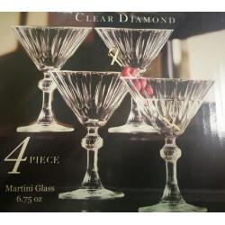 Set de 4 copas para Martini MARCA CIRCLEWERE
