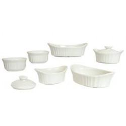 Set de 8 piezas French White MARCA CORNINGWARE