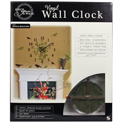Reloj de pared  vinyl MARCA DCWV