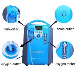 Concentrador de oxigeno portátil MARCA LOVEGO