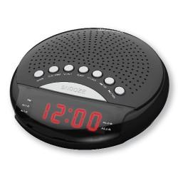 Radio despertador con doble alarma MARCA RCA