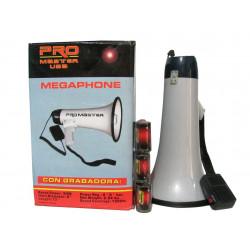 Megafono De Mano 30w Recargable MARCA PROMASTER