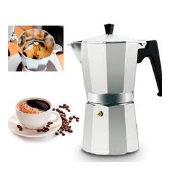 Cafetera de aluminio para Expresso 9 tazas