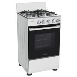 Estufa de gas de 4 hornillas con  horno MARCA PREMIUM