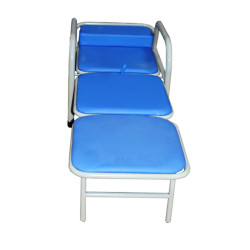 fec3bceaa0095 Silla plegable multifuncional color azul MARCA ABM MEDICAL CARE