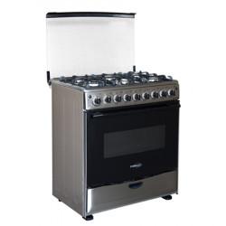 Estufa de gas de 6 hornillas con  horno MARCA PREMIUM