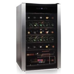 Enfriador de vinos capacidad 34 botellas MARCA PREMIUM