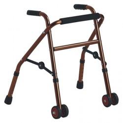 Andador infantil plegable con ruedas MARCA ABM MEDICAL CARE