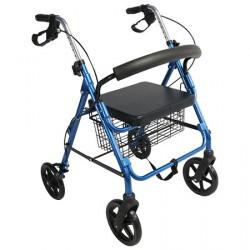 Andador con ruedas y canasta MARCA ABM MEDICAL CARE
