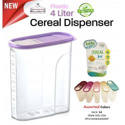 Set de 2 dispensador para cereal MARCA HOBBY LIFE