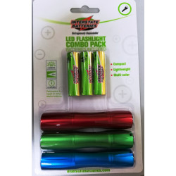 Combo de 3 Linternas Led MARCA INTERSTATE BATTERIES
