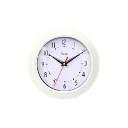 Reloj de pared de 20 cm blanco MARCA EQUITY