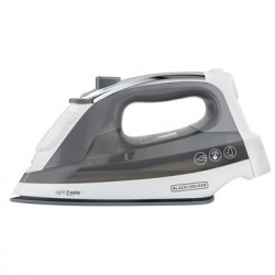 Plancha de ropa a vapor gris MARCA BLACK AND DECKER