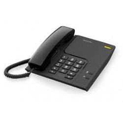 Teléfono de escritorio / mesa negro MARCA ALCATEL