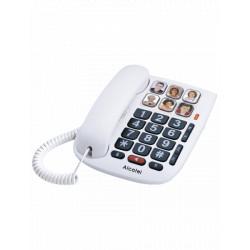 Telefono de escritorio / mesa moderno de números grandes MARCA ALCATEL