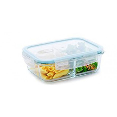 Recipiente rectangular mediano de 33.8 Oz MARCA PURELIFE