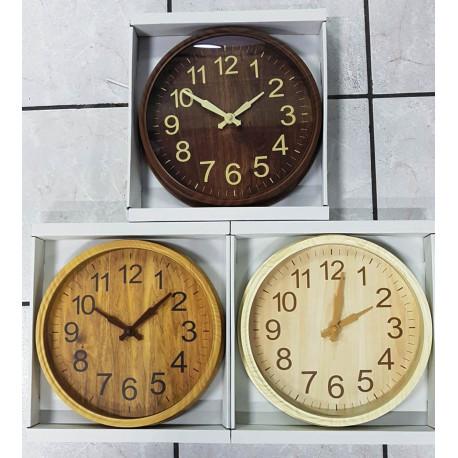 Reloj de pared Redondo de 30 Centímetros.
