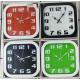 Reloj BEIGE o CAFE de pared Redondo de 29 Centímetros.