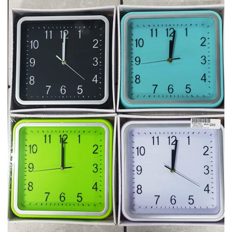 Reloj de pared Rectangular de 30 Centímetros.