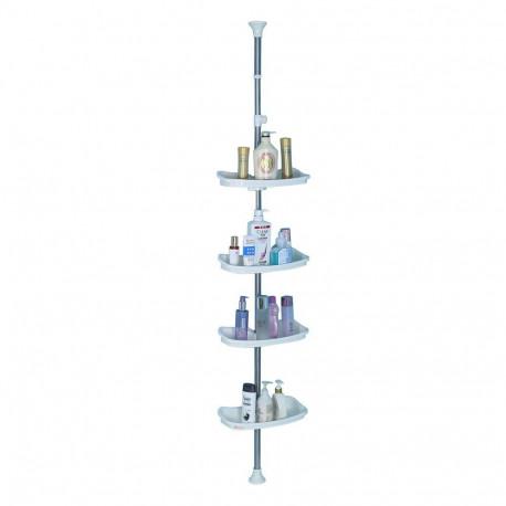 Organizador cromado ajustable de altura MARCA PRIANA