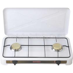 Estufa de mesa de 2 hornillas con tapa MARCA PREMIERE BY ABM