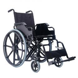 Silla de ruedas desmontable de brazos y apoya pies MARCA ABM MEDICAL CARE