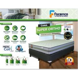 Cama Queen Size 100% Super Ortopedica MARCA FACENCO