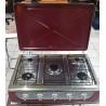 Estufa de mesa de 5 hornillas MARCA PREMIERE BY ABM