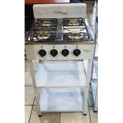 Estufa de mesa con 2 entrpaños de 4 hornillas MARCA PREMIERE BY ABM