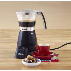 Cafetera Electrica Negra para expreso de 6 tazas MARCA IMUSA