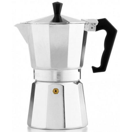 Cafetera de aluminio para Expresso 1 tazas MARCA EUROHOME