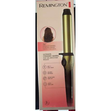 """Rizador para cabello de Ceramica Barrel de 1/4"""" MARCA REMINGTON"""