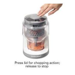 Procesador de alimentos de 3 tazas Smart Chop MARCA HAMILTON BEACH