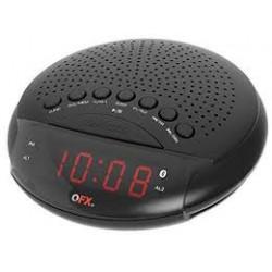 Radio reloj despertador con bluetooth MARCA QFX