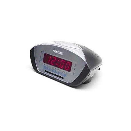 Radio reloj despertador eléctrico MARCA SENTRY