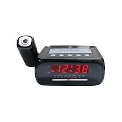 Radio reloj despertadorProyección Digital eléctrico MARCA SUPER SONIC