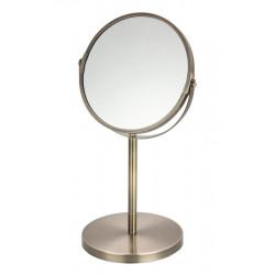 Espejo redondo para maquillaje Bronce MARCA ELLE
