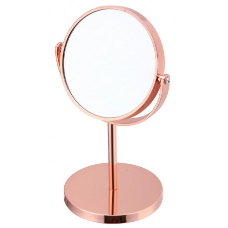 Espejo redondo para maquillaje Rosa MARCA ELLE